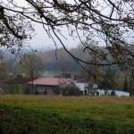 Blick vom Kapellenberg auf das Dorf